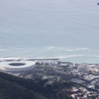 The Cape Town Stadium used in the 2010 Football World Cup